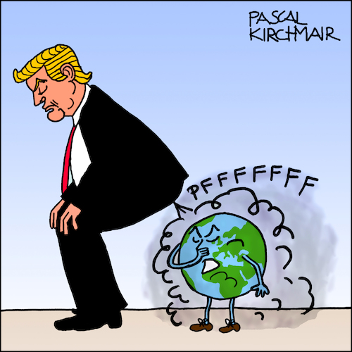 Cartoon: Paris climate agreement (medium) by Pascal Kirchmair tagged donald,trump,farts,paris,climate,change,agreement,cartoon,caricature,karikatur,illustration,vignetta,dibujo,dessin,drawing,desenho,disegno,donald,trump,farts,paris,climate,change,agreement,cartoon,caricature,karikatur,illustration,vignetta,dibujo,dessin,drawing,desenho,disegno
