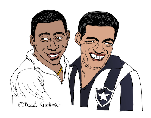 Pele and Garrincha