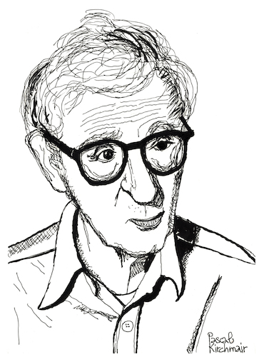 Cartoon: Woody Allen (medium) by Pascal Kirchmair tagged woody,allen,portrait,retrato,drawing,illustration,zeichnung,ilustracion,ilustracao,dibujo,desenho,dessin,disegno,pascal,kirchmair,illustratie,illustrazione,tekening,teckning,ritratto,woody,allen,portrait,retrato,drawing,illustration,zeichnung,ilustracion,ilustracao,dibujo,desenho,dessin,disegno,pascal,kirchmair,illustratie,illustrazione,tekening,teckning,ritratto