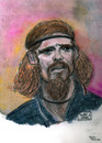 Cartoon: Alexi Lalas (small) by Pascal Kirchmair tagged rock star musiker musician etats unis coppa del mondo mundial de futbol alexi lalas soccer player usa 1994 weltmeisterschaft wm world cup coupe du monde foot joueur verteidiger defender defenseur