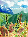 Cartoon: Alpenlandschaft (small) by Pascal Kirchmair tagged alpine,landscape,scenery,switzerland,schweiz,suisse,suiza,svizzera,suica,alpen,alps,alpes,alpi,watercolor,watercolour,aquarell,aquarelle,abstrakte,komposition,abstract,composition,alpenlandschaft,pascal,kirchmair,painting,peinture,abstraite,arte,illustration,drawing,zeichnung,ilustracion,dibujo,desenho,ink,disegno,ilustracao,illustrazione,illustratie,dessin,de,presse,du,jour,art,of,the,day,tekening,teckning,abstracto,astratto,abstrato