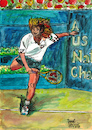 Cartoon: Andre Agassi (small) by Pascal Kirchmair tagged us,open,andre,kirk,agassi,illustration,drawing,zeichnung,pascal,kirchmair,irische,impressionen,cartoon,caricature,karikatur,ilustracion,dibujo,desenho,ink,disegno,ilustracao,illustrazione,illustratie,dessin,de,presse,du,jour,art,of,the,day,tekening,teckning,cartum,vineta,comica,vignetta,caricatura,portrait,retrato,ritratto,portret,aquarelle,watercolor,watercolour,acquarello,acuarela,aguarela,aquarela,tennis,player