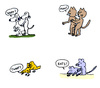 Cartoon: Animalischer Sex (small) by Pascal Kirchmair tagged animalisch animal sex tierreich tiere animals animales