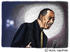 Cartoon: Ben E. King (small) by Pascal Kirchmair tagged ben,king,rhythm,and,blues,stand,by,me,caricature,karikatur,portrait,rnb