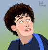 Cartoon: Benjamin Pavard (small) by Pascal Kirchmair tagged foot football fußball futebol futbol benjamin pavard jeumont maubeuge nord france equipe de allez les bleus tricolore marseillaise edf fff cartoon caricature karikatur ilustracion illustration pascal kirchmair dibujo desenho drawing zeichnung disegno ilustracao illustrazione illustratie dessin presse du jour art of the day tekening teckning cartum vineta comica vignetta caricatura portrait retrato ritratto portret