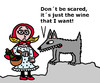 Cartoon: Cappuccetto Rosso (small) by Pascal Kirchmair tagged caperucita roja chi pecora si fa il lupo lo mangia rotkäppchen le petit chaperon rouge little red riding hood cappuccetto rosso