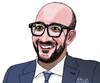 Cartoon: Charles Michel (small) by Pascal Kirchmair tagged charles michel prime minister belgium karikatur caricature cartoon portrait belgien belgique premier ministre belge premierminister