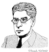 Cartoon: ERNST BLOCH (small) by Pascal Kirchmair tagged ernst,bloch,portrait,retrato,ritratto,zeichnung,drawing,dessin,dibujo,desenho,disegno,illustration,wacom,cintiq,21ux,digital