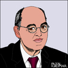 Cartoon: Gregor Gysi (small) by Pascal Kirchmair tagged gregor,gysi,karikatur,caricature,portrait,die,linke,cartoon,pds,sed,deutschland,germany,allemagne,politiker