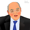Cartoon: Gregor Gysi (small) by Pascal Kirchmair tagged ddr,pds,sed,wende,berlin,die,linke,gregor,gysi,politicien,politiker,politician,homme,politique,dibuix,illustration,drawing,zeichnung,pascal,kirchmair,political,cartoon,caricature,karikatur,ilustracion,dibujo,desenho,ink,disegno,ilustracao,illustrazione,illustratie,dessin,de,presse,du,jour,art,of,the,day,tekening,teckning,cartum,vineta,comica,vignetta,caricatura,portrait,porträt,portret,retrato,ritratto