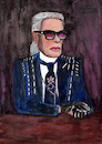 Cartoon: Karl Lagerfeld (small) by Pascal Kirchmair tagged ligne linie modelinie hot haute couture grand couturier paris hamburg rom rome roma kaiser karl lagerfeld mode modeschöpfer fashion line house modelabel modehaus maison chanel fendi zeichnung illustration drawing pascal kirchmair irische impressionen cartoon caricature karikatur ilustracion dibujo desenho ink disegno ilustracao illustrazione illustratie dessin de presse du jour art of the day tekening teckning cartum vineta comica vignetta caricatura portrait retrato ritratto portret aquarelle watercolor watercolour acquarello acuarela aguarela aquarela german germany deutschland artist modezar artiste artista genie