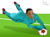 Cartoon: Keylor Navas (small) by Pascal Kirchmair tagged keilor keylor antonio navas gamboa costa rica foot football soccer champions league futebol futbol psg paris st saint germain goalkeeper goalie tormann gardien de but torhüter portero portiere calcio guarda redes goleiro arquero illustration drawing zeichnung pascal kirchmair cartoon caricature karikatur ilustracion dibujo desenho ink disegno ilustracao illustrazione illustratie dessin presse du jour art of the day tekening teckning cartum vineta comica vignetta caricatura portrait porträt portret retrato ritratto