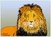 Cartoon: Lion (small) by Pascal Kirchmair tagged lion löwe king roi jungle könig dschungel cartoon drawing dessin dibujo desenho disegno zeichnung illustration leon leone leao giungla selva jungla ilustracion ilustracao illustrazione