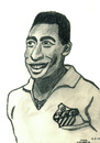 Cartoon: Pele (small) by Pascal Kirchmair tagged fußballer football footballer footballeur soccer player bleistiftzeichnung pencil drawing pele edson arantes do nascimento edison caricature karikatur cartoon fußballspieler sportler brasilien brasil brazil bresil brasile