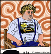 Cartoon: Theo van Gogh (small) by Pascal Kirchmair tagged theo,van,gogh,caricature,portrait,cartoon,retrato,ritratto,portret,karikatur,dessin,dibujo,vignetta,drawing,zeichnung,holland,dutch,netherlands,niederlande,disegno,desenho