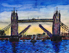 Cartoon: Tower Bridge (small) by Pascal Kirchmair tagged tower,bridge,london,themse,thames,tamise,painting,peinture,tamigi,tamesis,tamisa,arte,pascal,kirchmair,illustration,drawing,zeichnung,ilustracion,dibujo,desenho,ink,disegno,ilustracao,illustrazione,illustratie,dessin,de,presse,du,jour,art,of,the,day,tekening,teckning,great,little,britain,england,united,kingdom
