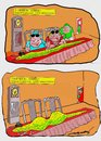 Cartoon: exotic food (small) by kar2nist tagged east,travel,food,anaconda,chinesefood,tourist