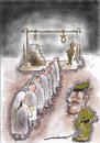 Cartoon: Hight of Cruelty (small) by kar2nist tagged dictator,hanging,cruelty,overthrow,army,siege
