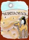 Cartoon: The Plight of the Penguins (small) by kar2nist tagged ice,caps,polar,penguins,sahara,desert,global,warming