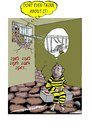 Cartoon: Thwated thoughts (small) by kar2nist tagged convict,newyear,escape,cell