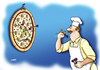 Cartoon: Pizzapitch_01 (small) by Alexander Markelov tagged pizzapitch