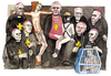 Cartoon: Glaubensbrueder (small) by Niessen tagged pedofilia,church,religion,pope,priests,children,violence