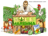 Cartoon: Sole Maremma (small) by Niessen tagged marihuana,cannabis,fox,selfportrait,sun,grass,cock,campaign,green