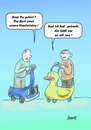 Cartoon: Der Hundertste (small) by berti tagged 100,jubiläum,cartoon,alt