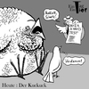 Cartoon: Der Kuckuck (small) by Mistviech tagged tiere,natur,vögel,kuckuck,kuckuckskind,vaterschaftstest