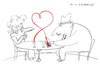 Cartoon: Lovewine (small) by Herme tagged wine,love