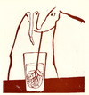Cartoon: Drinker (small) by Kestutis tagged kestutis,lithuania