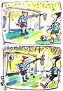 Cartoon: HUMOR HYPNOSIS (small) by Kestutis tagged football,basketball,humor,hypnosis,fußball,soccer,ngoalkeeper,sports,fans