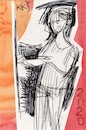 Cartoon: Two sketch art postcards 15 (small) by Kestutis tagged sketch,postcard,art,kunst,kestutis,lithuania