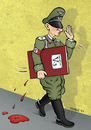 Cartoon: V3 (small) by dragas tagged dragas,kragujevac,serbia,yugoslavia,germany
