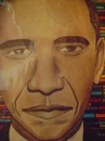 Cartoon: barack obama (small) by odinelpierrejunior tagged portraits,drawings,cartoons,paintings,images,designs,pictures