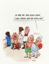 Cartoon: tiefschlag (small) by ms rainer tagged boxen,sport,rollstuhl,duell