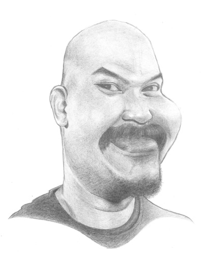 Cartoon: Bagus Netral (medium) by areztoon tagged karikatur,bassist,bagus,netral,music