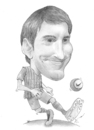 Cartoon: Lionel Messi (small) by areztoon tagged barcelona leo messi barca caricature toon