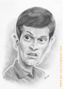 Cartoon: Tito Vilanova caricature (small) by arez tagged karikatur caricature tito vilanova fcb barcelona barca pencils