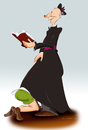 Cartoon: Eiersuche (small) by KryCha tagged ostern,easter,blow,job,blasen,upskirt,kirche,church,priest,missbrauch,eiersuche