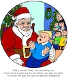 Cartoon: Impeach Santa (small) by Alan tagged quid pro quo santa christmas gifts boy family