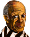 Cartoon: picasso (small) by faruksoyarat tagged picasso