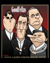 Cartoon: GoodFellas (small) by spot_on_george tagged goodfellas robert deniro ray liotta joe pesche caricature