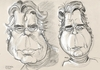 Cartoon: Stephen King Caricature Sketch (small) by McDermott tagged stephenking,caricature,sketch,books,writer,author,movies,horror,mcdermott,scary,monsters