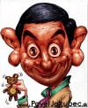 Cartoon: Mr. Bean (small) by toon tagged caricature,bean