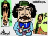 Cartoon: kaddafi terror (small) by ahmed_rassam tagged me and you