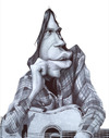 Cartoon: Neil Young (small) by manohead tagged manohead caricatura neil young