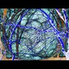 Cartoon: MH - Connected! (small) by MoArt Rotterdam tagged moart,verbinding,connection,verbonden,connected,love,liefde,electricity,electriciteit,blauw,blue