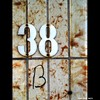 Cartoon: MH - Number 38-B (small) by MoArt Rotterdam tagged tags,rotterdam,moart,moartcards,huisnummer,number,nummer,38b,deur,door