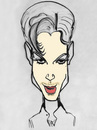 Cartoon: Prince (small) by Vidal tagged prince,musician